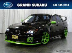2006 Subaru Impreza WRX STi - that's a sweet color scheme!