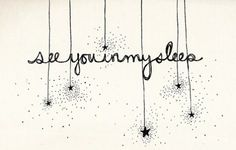 see you in my sleep #Typography