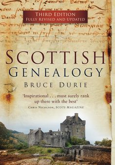 This fully revised  updated third edition of Scottish Genealogy is a comprehensive guide to tracing your family history in Scotland. This book is based on established genealogical practice  exploits the rich resources that Scotland has to offer. Addressing the questions of DNA, palaeography  the vexed issues of Clans, Families  tartans, and with a new chapter on Heraldry, this is a fascinating insight into discovering Scottish ancestors.