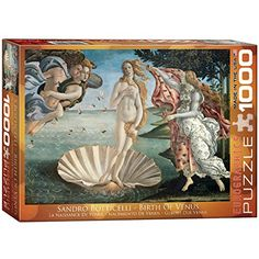 Birth of Venus by Botticelli 1000-Piece Puzzle EuroGraphics http://www.amazon.com/dp/B002MYF2DM/ref=cm_sw_r_pi_dp_idYXvb0ZQZSBY