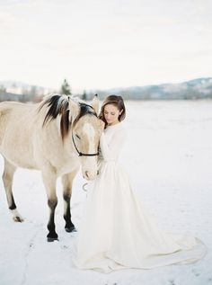Gorgeous wintery wedding ceremony: http://www.stylemepretty.com/2015/12/25/happy-holidays-elegant-winter-wedding-inspiration/ | Photography: Rebecca Hollis - http://rebeccahollis.com/