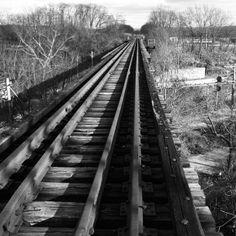 A hike that led to an abandoned railroad bridge. Felt very Appalachia/October Sky. #railroad #abandoned #ohio #appalachia