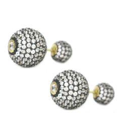 Swarovski Tribal Earrings – Andreia Fuzon Jewelry