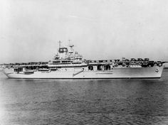 USS Wasp (CV 1940 was an Essex class Fleet Carrier. By the end of the war in the Pacific the United States had built 16 of these carriers. Then 8 more were built. Sunk by the Japanese submarine on 15 September American Aircraft Carriers, Navy Carriers, Navy Aircraft Carrier, Imperial Japanese Navy, Us Navy Ships, Abandoned Ships, Flight Deck, United States Navy, Military History