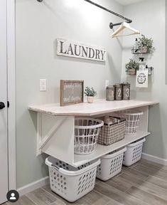 Laundry Room Remodel, Laundry Room Organization, Laundry Room Design, Laundry Closet, Laundry Storage, Laundry Organizer, Laundry Drying, Basement Laundry Rooms, Ikea Laundry