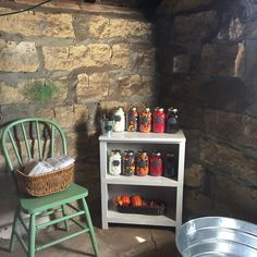 Popcorn bar for fall party at the farm