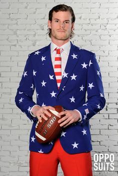 The Most Patriotic Suit You Didn't Know You Needed (Until Now)