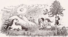 I'll Be You and You Be Me - written by Ruth Krauss, illustrated by Maurice Sendak (1954)