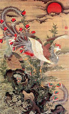 Ito Jakuchu - Phoenix