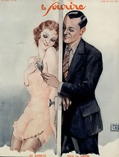 Le Sourire Magazine 1932 - Love is in the air with Valentine's Day this week