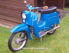 Simson Schwalbe KR 51/1 - German scooter