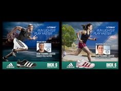 Banner Ad Trade Show, Banner Design, Banners, Adidas, Graphics, Display, Graphic Design, Banner