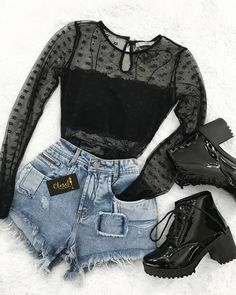 Perfect for a rock concert Inspiring Ladies Outfits - fashion Source by outfits moda Teen Fashion Outfits, Edgy Outfits, Swag Outfits, Cute Casual Outfits, Mode Outfits, Grunge Outfits, Cute Fashion, Outfits For Teens, Fall Outfits