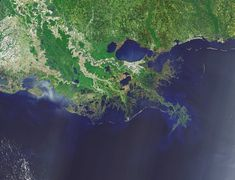 Louisiana is  drowning, quickly. In just 80 years, some 2,000 square miles of its coastal landscape have turned to open water, wiping places off maps, bringing the Gulf of Mexico to the back door of New Orleans and posing a lethal threat to an energy and shipping corridor vital to the nation's economy.