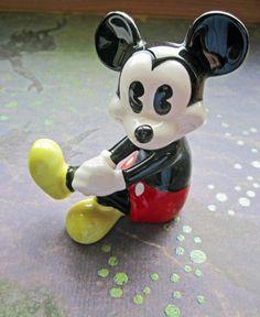 Walt Disney Mickey Mouse Vintage Figurine