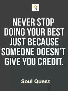 Always do your best...
