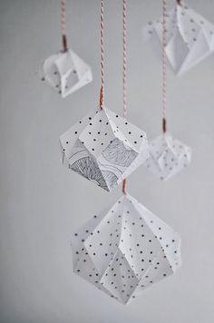 DIY - Un module d'origami diamants