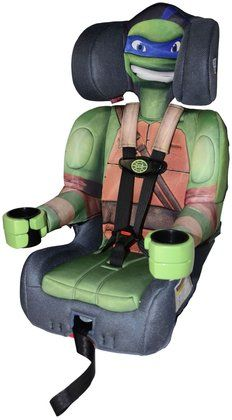 Kids Embrace Harness Booster Car Seat Tmnt Need This