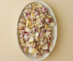 A fun twist on a tailgating and picnic standard! Spanish-Style Grilled Pepper Potato Salad