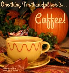 Grateful for coffee
