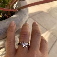 Most beautiful solitaire engagement rings 0505 Elegant Engagement Rings, Princess Cut Rings, Princess Cut Engagement Rings, Engagement Ring Cuts, Princess Cut Diamonds, Solitaire Engagement, Princess Wedding, Solitaire Rings, Solitaire Diamond