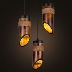 20+ Amazing DIY Bamboo Lamp Designs For Home Interior