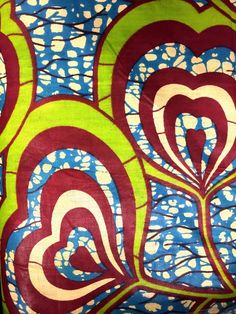 """African Prints - Style #2 $3.95/yd 45"""" wide #prints #africanprints #specialty #apparel #textilediscount"""