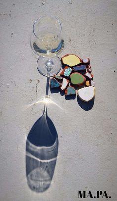 vino vermentino in spiaggia