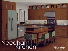 Needham Kitchen by pyszny16 - Sims 3 Downloads CC Caboodle