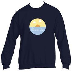 Waimea Bay Ocean Sunset - Hawaii Men's Fleece Crew Sweatshirt