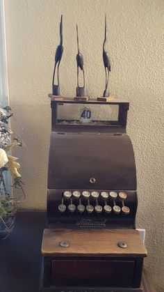 Old school cash register