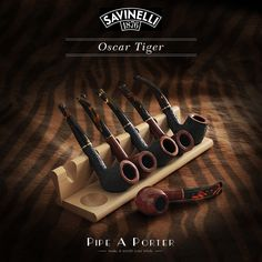 Savinelli - OSCAR TIGER PIPES IT…