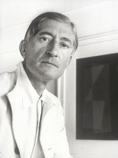 Josef Albers (1888-1976) - German-born American artist and educator whose work, both in Europe and in the United States, formed the basis of some of the most influential and far-reaching art education programs of the twentieth century. Photo by Joseph Breitenbach