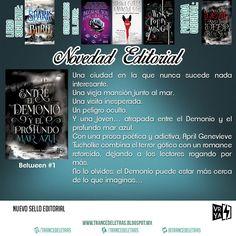 """""""Entre el Demonio y el Profundo Mar Azul"""" (Between #1) de April Genevieve Tucholke"""