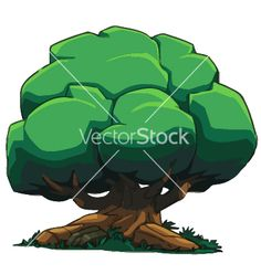 New Uploader: Tree And Landscapes Cartoon Set 3 Vector | Royalty Free Vector Art, Vector Graphics & Clipart | VectorStock®.com