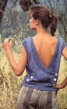Knitting Pattern Book Women's Cotton Yarn Sweaters  by KenyonBooks, $7.50