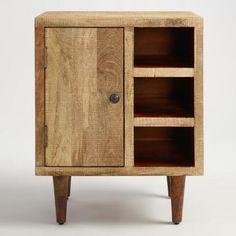 Rustic Wood Cabinet | World Market ($149/Sale) Ikea Dvd Storage, Ikea Storage Furniture, Diy Dvd Storage, Dvd Storage Boxes, Ikea Storage Cabinets, Wall Storage Systems, Storage Ideas, Rustic Wood Cabinets, Antique Cabinets