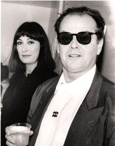 Anjelica Huston e Jack Nicholson by Stephen Jerrome