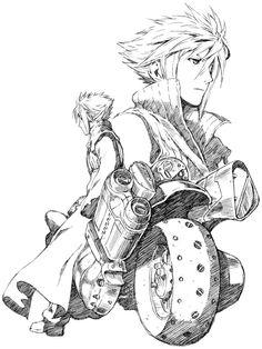 Cloud Strife (Advent Children version), Final Fantasy VII.