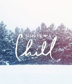 Winter's Chill | The Fresh Exchange
