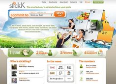 StickK lets you set a goal, notify a support group, and have an outsider weigh in and judge your progress, but the real motivation has to do with money. Set Your Goals, Achieve Your Goals, Fitness Gadgets, Getting Back In Shape, Behavioral Science, Study Hard, Working Woman, Take Care Of Yourself, Self Improvement