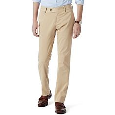 Garment Dyed Chino-Classic Fit - Khaki - $129 - https://savannahhughes.jhilburn.com/products/garment_dyed_chino-classic_fit/khaki