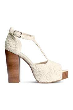 Sandalias de plataforma | H&M