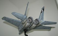IAF F-15A Eagle Fighter Paper Model by Yoavhozmi - http://www.papercraftsquare.com/iaf-f-15a-eagle-fighter-paper-model-by-yoavhozmi.html#130, #EAGLE, #F15, #F15A, #IAF, #McDonnellDouglas, #McDonnellDouglasF15Eagle