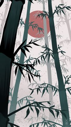 Japanese Sun Bamboo forest wallpaper dark Check out this awesome collection of Traditional Japanese Art wallpapers, with 72 Traditional Japanese. Anime Scenery Wallpaper, Forest Wallpaper, Naruto Wallpaper, Dark Wallpaper, Bamboo Wallpaper, Screen Wallpaper, Wallpaper Quotes, Japanese Drawings, Japanese Artwork