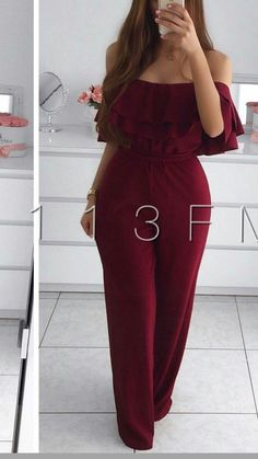 christmas date outfit Girls Fashion Clothes, Teen Fashion Outfits, African Fashion Dresses, Clothes For Women, Classy Work Outfits, Cute Casual Outfits, Stylish Outfits, Red Bridesmaid Dresses, Prom Dresses With Sleeves
