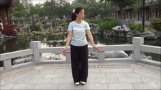 "QIGONG Shaolin "" BaDuanJin "" ( 8 pieces of Brocade ) performed by Fanny Ng with a New Age Music !"