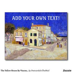 The Yellow House By Vincent Van Gogh Postcard