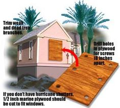 Protect your home against a hurricane, without wasting time. Source USATODAY.com