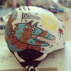 // Helmet by Borneo Modofoker , via Behance